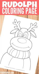 Small Picture Coloring Pages Top Free Printable Rudolph The Red Nosed Reindeer