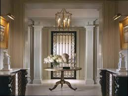 round foyer tables round entryway table