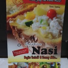 Nasi kebuli merupakan hidangan nasi berbumbu yang mempunyai cita rasa gurih yang ditemukan di indonesia. Jual Resep Variasi Nasi Kota Surabaya Pretty Blossom Tokopedia
