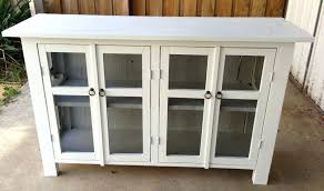 glass door buffet furniture appealing white sideboard with glass door and simple sideboards buffet furniture sliding