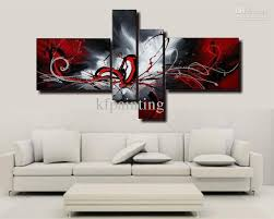 wall canvas art handpainted acrylic abstract painting oil on canvas wall paintings modern set 4 piece wall art on 4 piece canvas wall art with wall art designs wall canvas art handpainted acrylic abstract