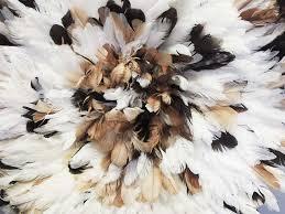 african creative juju feather hat 3