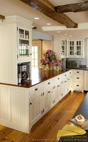 white country cottage kitchen. Simple White White Country Cottage Kitchen Coffee Station W Cabinet Above For Mugs  Also Love The Color Of Cabinets And Especially Floor In Kitchen A