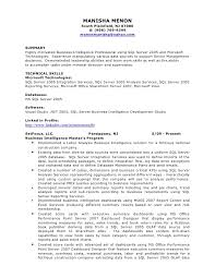 Manisha Bi Resume. MANISHA MENON South Plainfield, ...