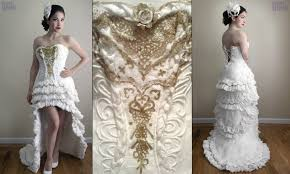 see the amazing wedding dress that cost just 10 but just wait