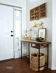 Small entrance table Modern Entrance Table Ikea Love This Farmhouse Home Tour Done On Budget She Turned Modern Entrance Table Entrance Table Ikea Entryway Table Ikea Michaliceinfo