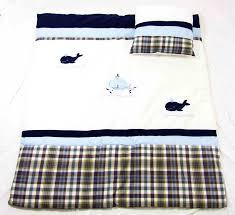 nautical whale bedding set