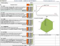 Yamazumi Chart Excel Free Quality Tools And Lean Templates Adaptive Bms