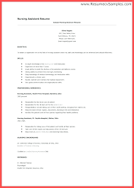 Cna Resume Skills Amazing 4618 Cna Resume For Hospital This Is Resume Skills How To Do A Resume