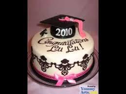 Diy Graduation Cake Decorations Youtube