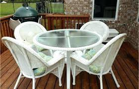 plastic outdoor table and chairs white outdoor dining set modern patio and furniture medium size white