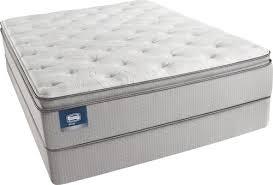 king pillow top mattress. Simmons Beautysleep Erica King Plush Pillow Top Mattress And Triton-Lite Regular Profile Foundation T