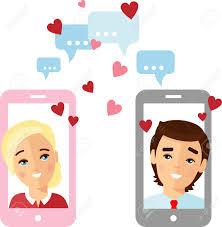 Cute Cartoon Illustration Of Couple In ...