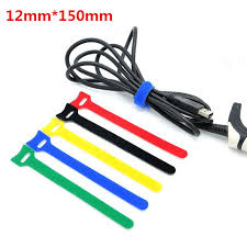 10pcs 12x150mm reusable hooks and loops cable ties wiring harness Wiring Harness Diagram at Can You Reuse A Wiring Harness