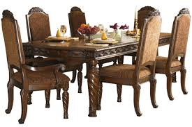 stylish north s collection traditional turned leg dining table with ashley furniture dining room chairs remodel