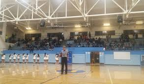 high school gym. Players Seem To Like The Quaint, Old Jefferson High School Gymnasium, Which Brings Back A Different Era Of Basketball. John Murphy / Review Gym