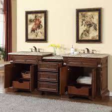 90 Bathroom Vanity Accord 90 Inch Double Sink Bathroom Vanity Venetian Granite