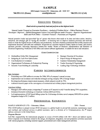 sample resume for hostess job executive profile professional experience