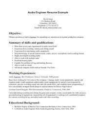 Computer Technician Resume Objective Examples Computer Best