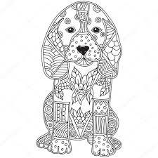 Honden Kleurplaat Volwassenen Intended For Kleurplaten Voor