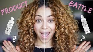Devacurl Light Defining Gel Vs Styling Cream Product Battle Devacurl Vs Ouidad Side By Side Comparison