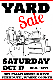 Free Yard Sale Signs Yard Sale Poster Template Postermywall
