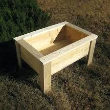 elevated garden bed plans raised beds building