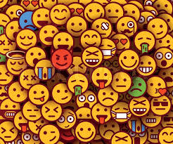 emoji background. Beautiful Emoji Yellow Smiles Background Emoji Texture Vector Illustration  Stock  Colourbox And Background E