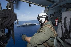 Naval Aircrewman Tactical Helicopter 2nd Class Ian