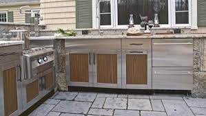 stainless steel outdoor kitchen. Stainless Steel Doors For Outdoor Kitchen Home Designs Within The Most Amazing Cabinets P