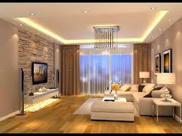 luxurious modern living room and