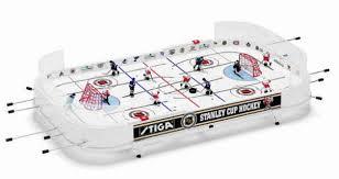 table hockey. stiga nhl table hockey game e