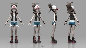 pokémon Black and White Version - Hilda - pokémon fã Art (39302588) - fanpop