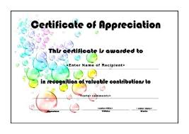 Volunteer Appreciation Certificate Template Sample Volunteer ...