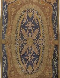 antique french savonnerie carpet bb1374