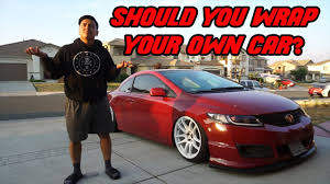 Design Your Own Car Wrap Is It Worth It To Wrap Your Own Car Giveaway Winner