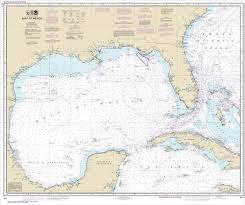 Gulf Coast Nautical Charts Noaa Chart Gulf Of Mexico 411