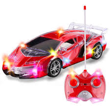 Radio Controlled Led Lights Light Up Rc Remote Control Racing Car 1 20 Scale Radio Control Sports Car With Flashing Led Lights Ideal Gift Toy For Kids Red