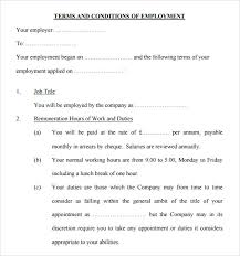 Example Word Documents Terms And Conditions Sample 8 Documents In Pdf Word