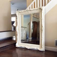 GORGEOUS ORNATE MIRROR For Sale, Large White Mirror, Shabby Chic Wall Mirror,  Nursery Decor, Ornate Furniture, ...