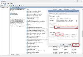 Windows 10 Disable Program Compatibility Assistant Windows Help Guides