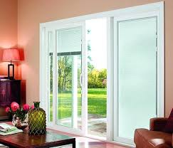wonderful sliding patio doors with internal blinds masterpiece valances for sliding glass doors with blinds inside