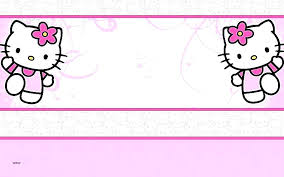 invitation card hello kitty hello kitty birthday invitation card templates invitations free