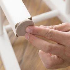 felt pads on furniture