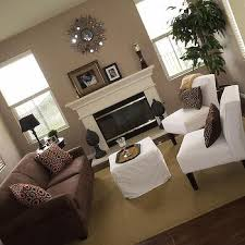 taupe living room walls