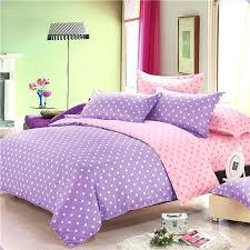 polka dot comforter set print bedding bed duvet cover sheet twin full queen size linen pink polka dot comforter set