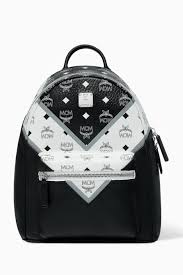 Mcm Designer Stand For Shop Mcm Multicolour Stark Backpack In M Move Visetos For