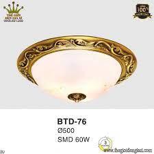 Đèn Ốp Trần Led Đồng Euroto BTD76 Ø500mm