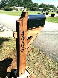 wooden mailbox designs. Wood Mailbox Ideas. Fine Wooden Plans Posts Build A Post Appealing Ideas For Designs