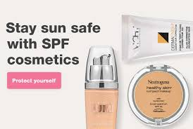 stay sun safe with spf cosmetics protect yourself